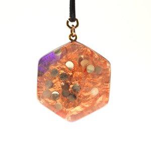 orgone amber hanger