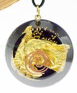 orgone-giftshop~eigentijdse hanger goud